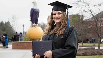 Graduate Overcomes Past To Earn Degree At Ashland University