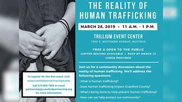 Community Discussion On The Reality Of Human Trafficking