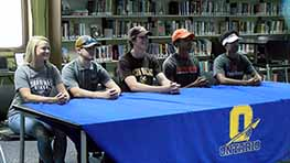 Five Ontario Warriors Sign National Letters Of Intent