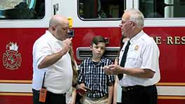Matthew Carey Sworn In As Springfield Fire Chief