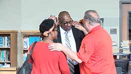 Stan Jefferson Welcomed As New Mansfield Superintendent