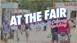 At The Fair: Crawford County Monday