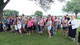 Vigil Held In Memory Of Jeromesville Fire Victims