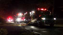 Fire Destroys Outbuilding On Marion Avenue Road