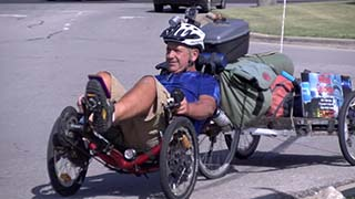 Man With Brain Injury Bikes Cross-Country To Raise Awareness
