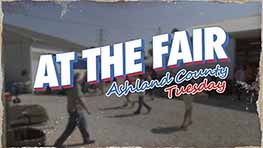 At The Fair: Ashland County Tuesday