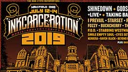 INKcarceration Announces 2019 Lineup, Tickets On Sale