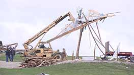Shelby Family Loses Equipment And More After Tornado
