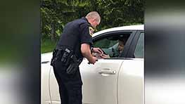 Ontario Police, OHP Stress Seat Belt Safety With Checkpoint