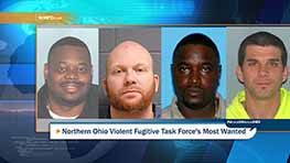 Northern Ohio Violent Fugitive Task Force's Most Wanted