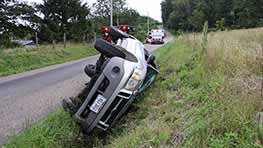 Minor Injuries Reported After Rollover Near Loudonville