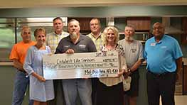 Catalyst Life Services Receives Check From Mid-Ohio AFL-CIO