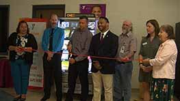 Mansfield YMCA Introduces Library Vending Machine