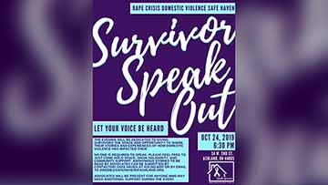 RCDV Safe Haven Gives Survivors A Voice October 24