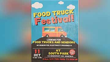 Second Annual Food Truck Festival To Take Place October 11th