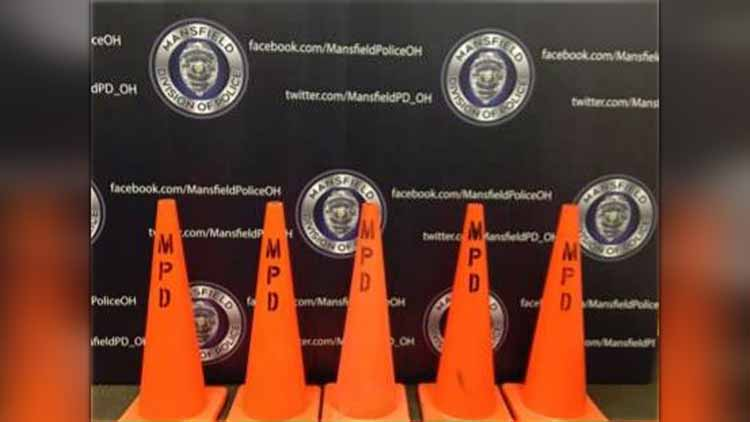 Mansfield PD And Mayor Announce Driver Traffic Cone Program