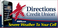 WMFD - Directions Credit Union - Severe Weather To Your Cell
